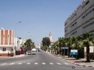 Agadir city view