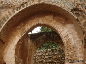 Ruined arch