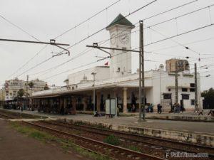 Railway station Casa Voyageurs