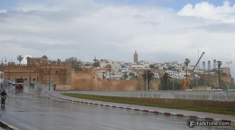 View to Kasbah