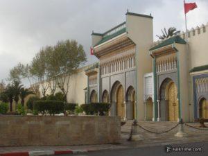 Gate of Dar El-Makzhen palace
