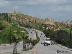 Road to Marinid tombs