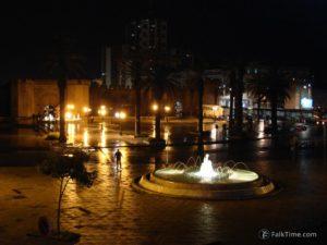 Rabat in the night