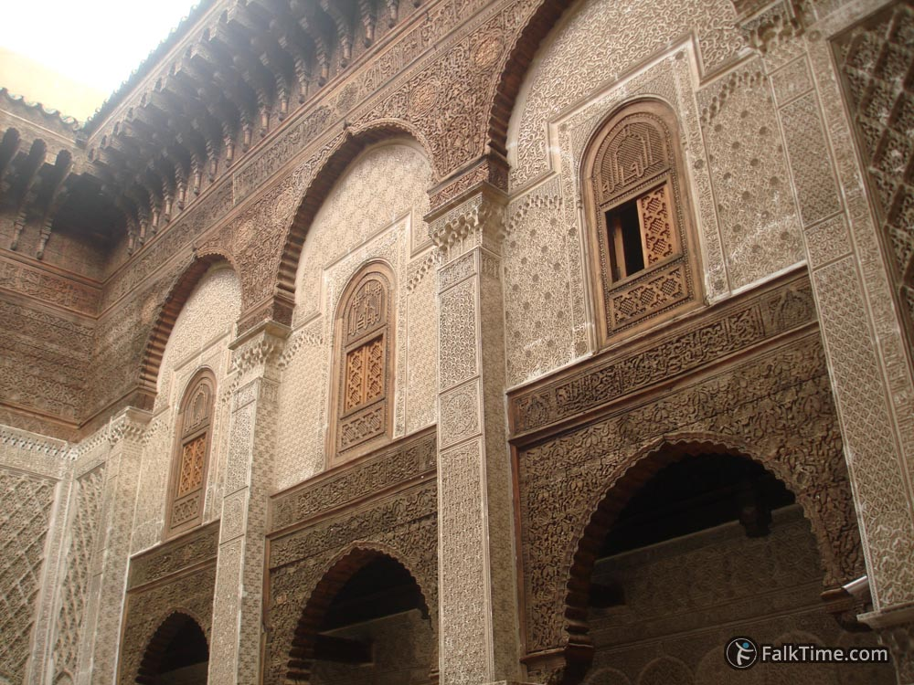 Wall of madrasa