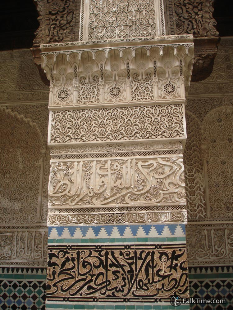 Wood and stone carving