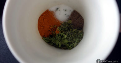 Spices for mkalli cooking style