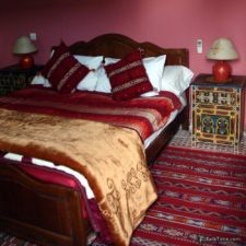 A room in Moroccan riad