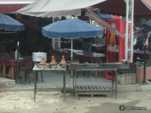 Restaurant serving tajines