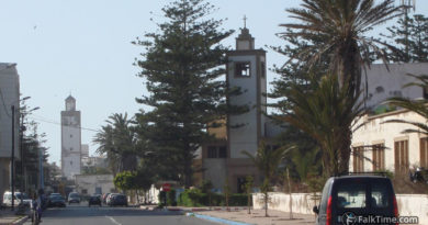Catholic church in Essaouira