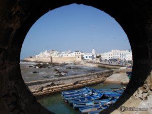 View to medina of Essaouira