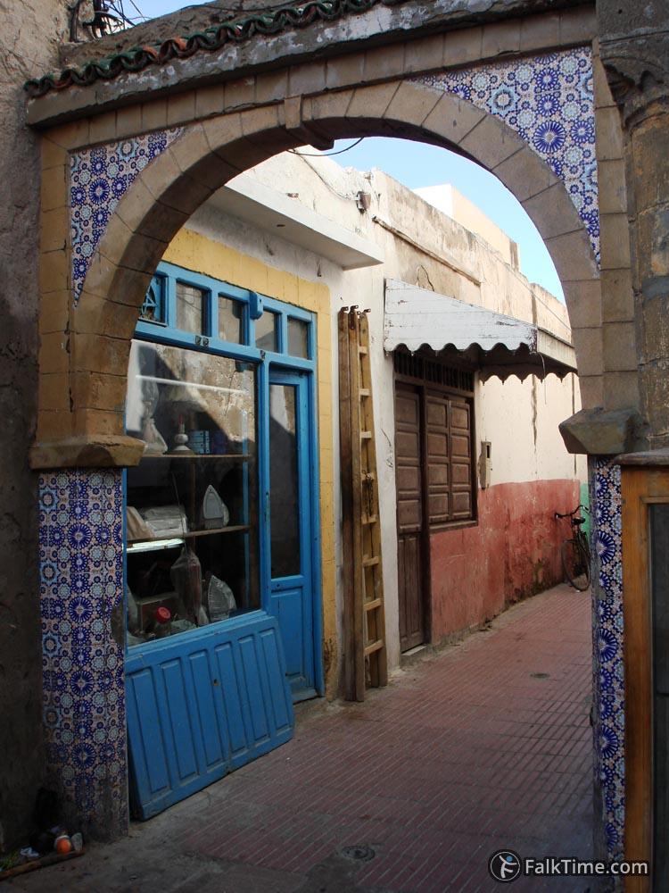 Arch at souk Jdid