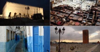 Rabat - Chefchaouene - Fez itinerary